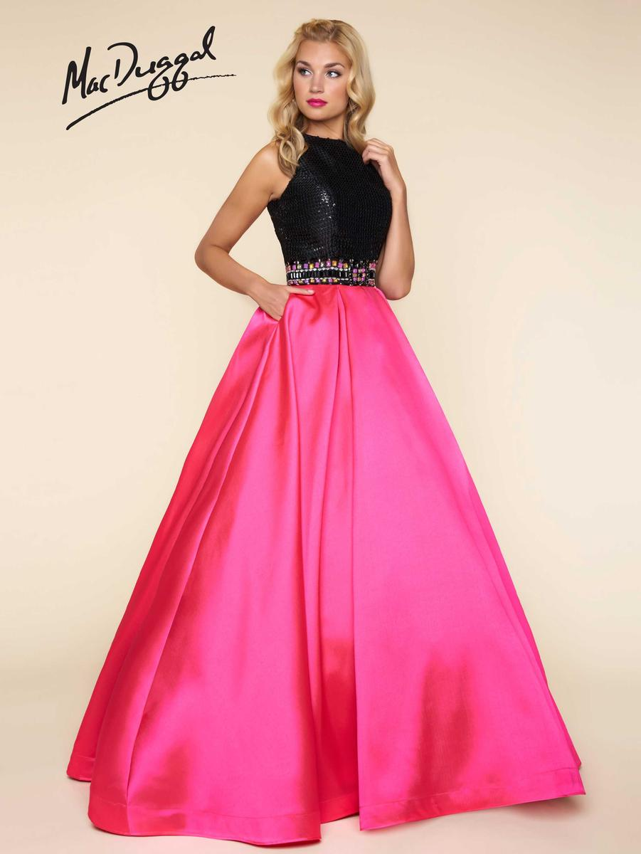 Ball Gowns by Mac Duggal 65805H Mac Duggal Ball Gowns Hannah's ...