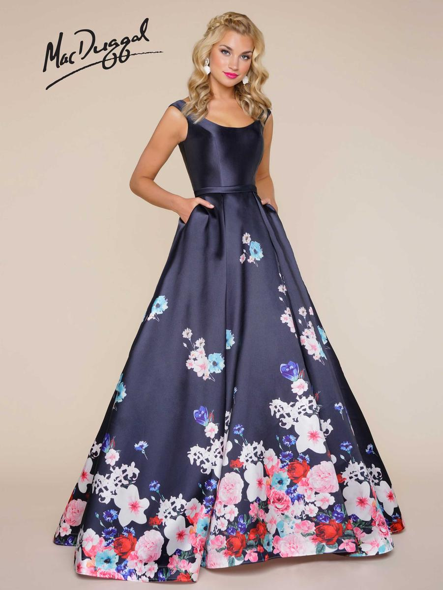 Ball Gowns by Mac Duggal 65812H Mac Duggal Ball Gowns